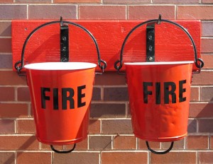 050m Fire Buckets